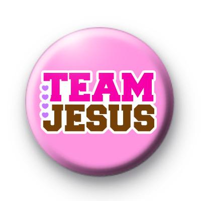 Team Jesus Button Badges