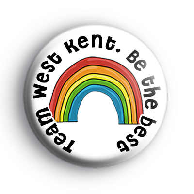 Team West Kent Be The Best Badge