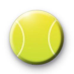 Tennis Ball Badge