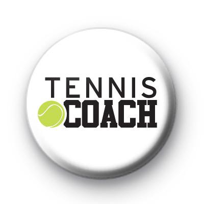 Tennis Coach Badge