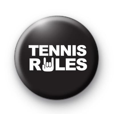 Tennis Rules Badge
