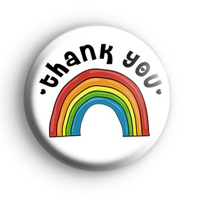 Rainbow Thank You Badge