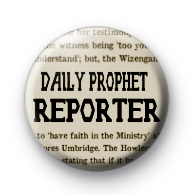 The Daily Prophet Reporter Badge