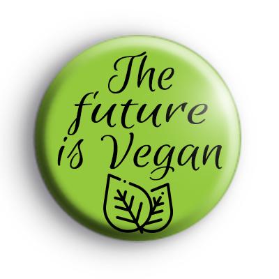 The future is Vegan Badge