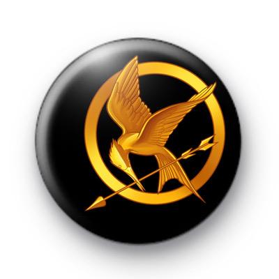 The Hunger Games Mocking Jay Badge