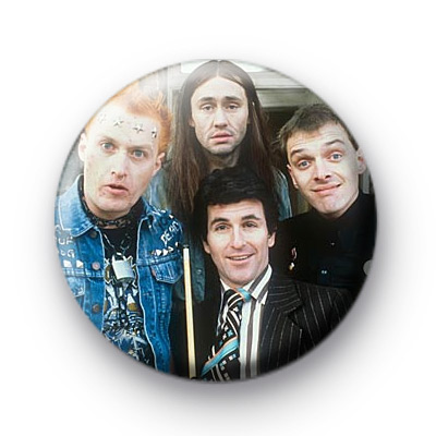 The Young Ones Lads badge