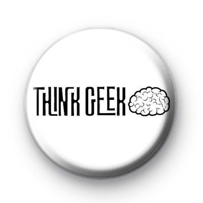 Think Geek Button Badge