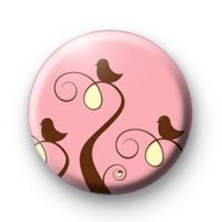 Three Birds Button Badge