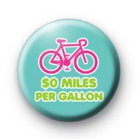 0 Miles per Gallon Bike Badges