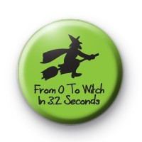 0 to Witch in 3.2 Seconds Green Badge