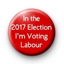 Voting Labour Button Badges