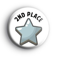 2nd Place Silver Star Award Badge