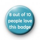 8 out of 10 badges