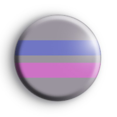 Androgynous Pride Flag Badge
