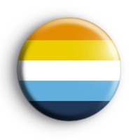 Aroace Pride Flag Badge Button Badges