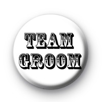 Black and White Team Groom Badge