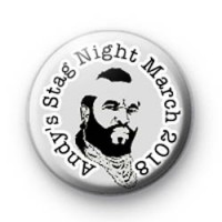 B. A. Baracus Stag Party Badge
