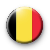 Belgian Flag Badge