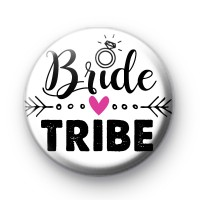 Fun Bride Tribe Diamond Ring Badge