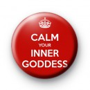 Calm your inner goddess badge