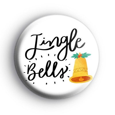 Traditional Jingle Bells Badge