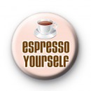 Coffee Humour Badge