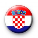 Croatia National Flag Badge