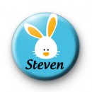 Custom Easter Bunny Name Badge