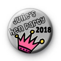 Julies Princess Hen Party Badges