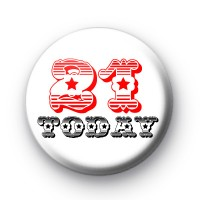 Custom Age Birthday Badges