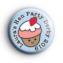 Cupcake Hen Party Badge