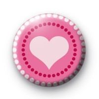 Dotty Hearts Badge