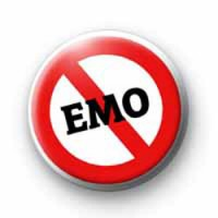 Anti EMO badges