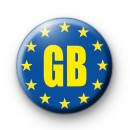 Pro EU GB Flag Badge