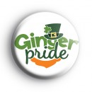 Ginger Pride Button Badge
