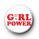 Girl Power Feminism Button Badges