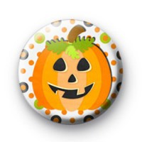 Halloween Pumpkin Lantern Badges