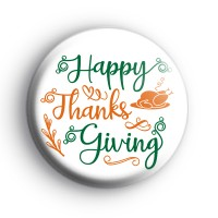 Happy Thanksgiving Badge