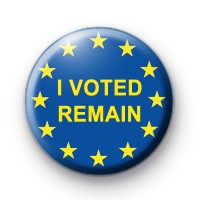 I Voted to Remain Button Badge thumbnail