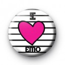 I Love Emo 2 badge