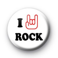 I Love Hand ROCK Badges