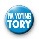 IM VOTING TORY 2017 BADGES