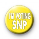 Im Voting SNP Political Badges