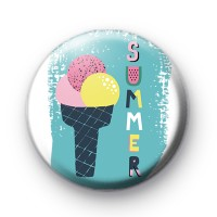 Ice Cream Summer Fun Badge