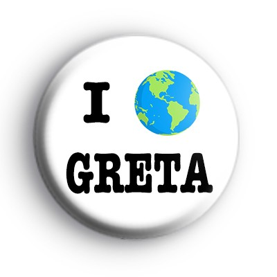 I Love Greta ECO Badge