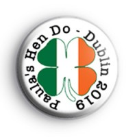 Irish Themed Hen Party Badge