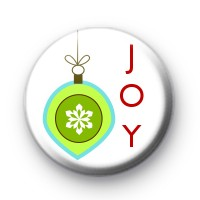Christmas Joy and Decorations Badge