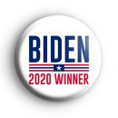 Biden 2020 US Election Winner Badge
