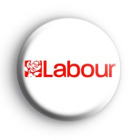 Labour General Election Button Badge