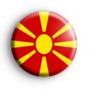 Macedonia Flag Badge